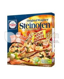 Produktabbildung: Original Wagner Steinofen Pizza Lachs Spinat 350 g