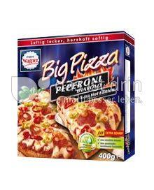 Produktabbildung: Original Wagner Big Pizza Peperoni Diavolo X-tra Hot Edition 400 g
