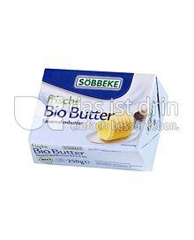 Produktabbildung: Söbbeke frische Bio Butter 250 g
