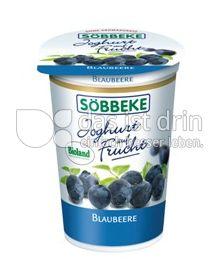 Produktabbildung: Söbbeke Joghurt auf Frucht Blaubeere 200 g