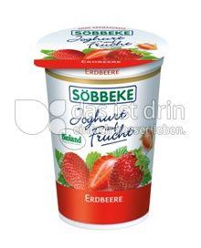 Produktabbildung: Söbbeke Joghurt auf Frucht Erdbeere 200 g