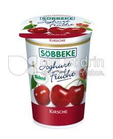 Produktabbildung: Söbbeke Joghurt auf Frucht Kirsche 200 g