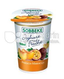 Produktabbildung: Söbbeke Joghurt auf Frucht Pfirsich-Maracuja 200 g