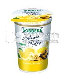 Produktabbildung: Söbbeke Joghurt auf Frucht Vanille-Zitrone 200 g