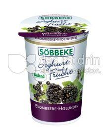 Produktabbildung: Söbbeke Joghurt auf Frucht Brombeere-Hollunder 200 g