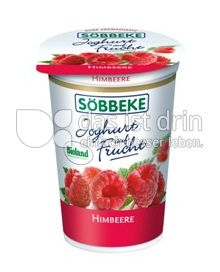 Produktabbildung: Söbbeke Joghurt auf Frucht Himbeere 200 g