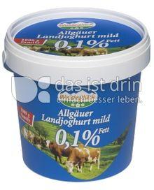 Produktabbildung: Weideglück Allgäuer Landjoghurt mild 1000 g