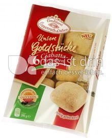 Produktabbildung: Conditorei Coppenrath & Wiese Unsere Goldstücke 6 Ciabattabrötchen 390 g