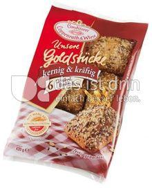 Produktabbildung: Conditorei Coppenrath & Wiese Unsere Goldstücke 6 Dinkelbrötchen 420 g