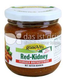 Produktabbildung: grano Vita Red-Kidney feuriger Brotaufstrich mit roten Bohnen 180 g