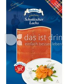Produktabbildung: Wechsler's geräucherter Schottischer Lachs 100 g