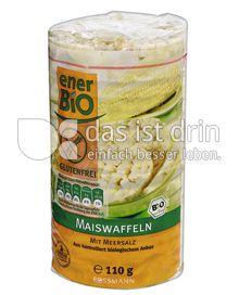 Produktabbildung: enerBIO Maiswaffeln mit Meersalz 110 g