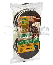 Produktabbildung: enerBIO Zartbitter-Schoko Reiswaffeln 100 g