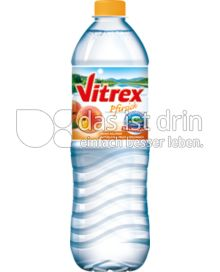 Produktabbildung: Vitrex Mineralwasser Pfirsich 1,5 l