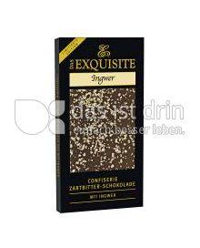 Produktabbildung: Das Exquisite Confiserie Zartbitter-Schokolade Ingwer 70 g