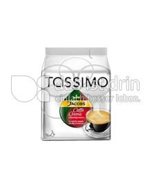 Produktabbildung: Tassimo Jacobs Caffè Crema vollmundig intensiv 16 St.