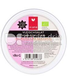Produktabbildung: Viana Vleischsalat vom Tofutier 180 g