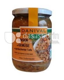 Produktabbildung: Danival Bio Linsen mit Gemüse und geräucherter Tofu 525 g