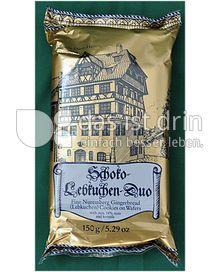 Produktabbildung: Lebkuchen-Schmidt Schoko-Lebkuchen-Duo 150 g
