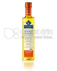 "Produktabbildung: Teutoburger Ölmühle Sonnenblumen-Kernöl ""Heiß Braten"" (BIO) 500 ml"
