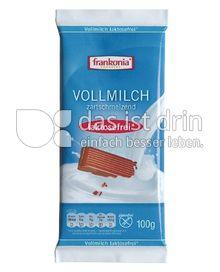 Produktabbildung: Frankonia Vollmilch zartschmelzend 100 g