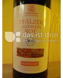 Produktabbildung: Ökoweinkontor Pfälzer Landwein rot halbtrocken 750 ml
