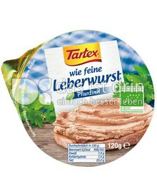 Produktabbildung: Tartex wie feine Leberwurst 120 g