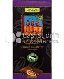 Produktabbildung: Rapunzel 70% Kakao Edelbitterschokolade 80 g