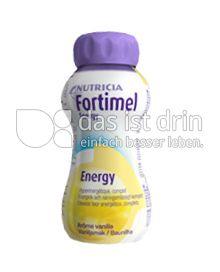 Produktabbildung: Fortimel Energy Vanillegeschmack 200 ml