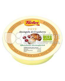 Produktabbildung: Tartex Paté Steinpilz & Cranberry 75 g