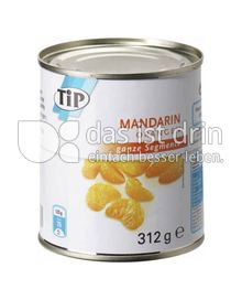 Produktabbildung: TiP Mandarin Orangen 312 g