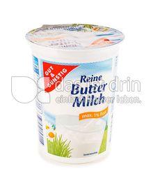 Produktabbildung: Edeka Gut & Günstig Reine Buttermilch 500 g
