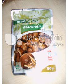 Produktabbildung: Rewe Bio Maronen gekocht 100 g