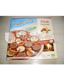 Produktabbildung: Natural Cool Pizza Peperoni 350 g