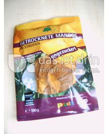 Produktabbildung: dwp mensch+zukunft Getrocknete Mangos in Streifen 100 g