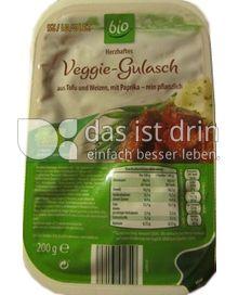 Produktabbildung: Aldi bio Herzhaftes Veggie-Gulasch 200 g