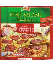 Produktabbildung: Mamma Gina Edelsalami Steinofenpizza 1050 g