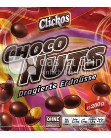 Produktabbildung: Clickos Choco Nuts 250 g