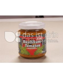 Produktabbildung: VITAM Basilikum-Tomate Vegetarischer Brotaufstrich 100 g
