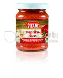 Produktabbildung: VITAM Paprika-Nuss Vegetarischer Brotaufstrich 125 g