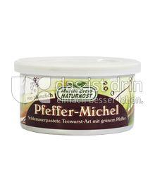 Produktabbildung: Martin Evers Naturkost Pfeffer-Michel 125 g