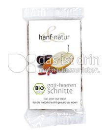 Produktabbildung: hanf & natur Goji-Beeren-Schnitte 40 g