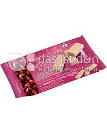 Produktabbildung: Grabower Cremewaffeln Cranberry 150 g