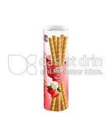 Produktabbildung: Grabower Joghurt-Erdbeer Waffelsticks 150 g
