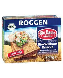 Produktabbildung: Grabower Bio-Vollkorn Knäcke Roggen 200 g