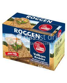 Produktabbildung: Grabower Vollkorn Knäcke Roggen 200 g