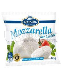 Produktabbildung: Goldsteig Mozzarella Kugel der Leichte 125 g