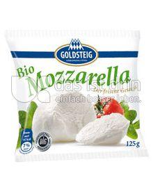 Produktabbildung: Goldsteig Bio Mozzarella Kugel 125 g
