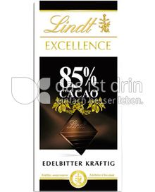 Produktabbildung: Lindt Excellence 85% Cacao 100 g