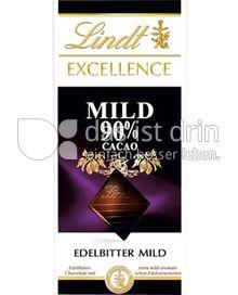 Produktabbildung: Lindt Excellence Mild 90% Cacao 100 g